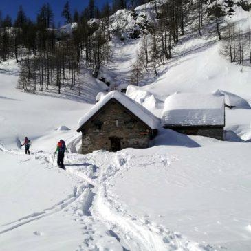 Invernalata tutti assieme al Monte Cazzola – Alpe Devero