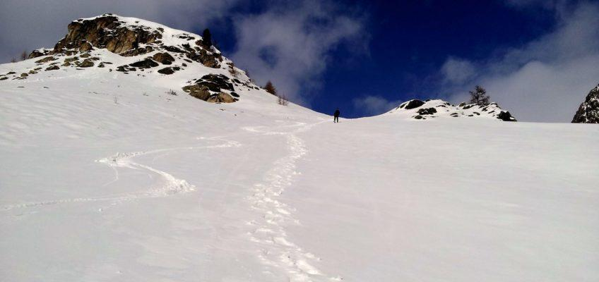 Scialpinismo e ciaspole sopra a Montgenevre