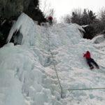 Cascate di ghiaccio di Lillaz e Loie