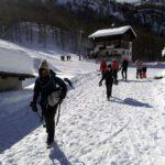 Invernalata tutti assieme al Monte Cazzola - Alpe Devero