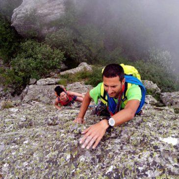 """Cresta """"Mario"""" al Monte Bric"""