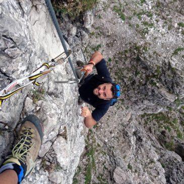 """Ferrata """"Maurizio"""" al Monte Alben"""
