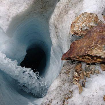 Ghiacciaio dei Forni – Rilievo dei mulini glaciali