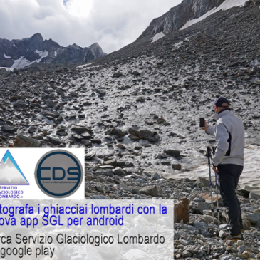 Volete contribuire allo studio dei ghiacciai? Basta un'App!