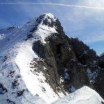 Cresta di Piancaformia - invernale