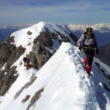 Cresta di Piancaformia – invernale