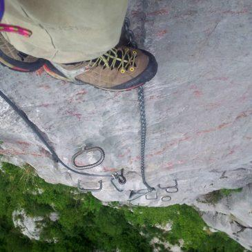Ferrata degli Alpini – Antimedale