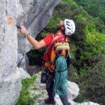 Cresta SW al Monte Castello di Gaino