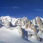 Cresta est dell'Aiguille Marbrèe - Monte Bianco