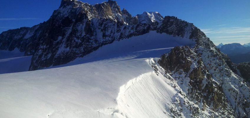 Cresta est dell'Aiguille Marbrèe – Monte Bianco
