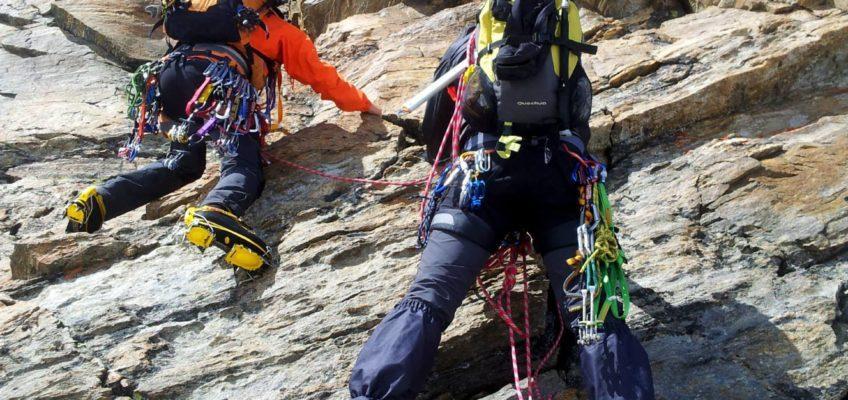 Cresta del Soldato alla Punta Giordani – Monte Rosa