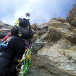 Cresta del Soldato alla Punta Giordani - Monte Rosa