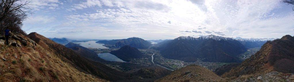 panorama 360 del fondo valle: davvero superlativo