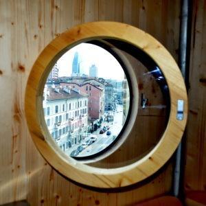 dal Refuge Tonneau si vede Milano