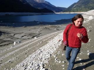 Erica DENTRO il bacino del lago di Molveno