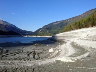 Mi faccio 4 passi sul fondo del lago di Molveno