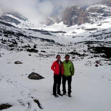 Escursione in Val d'Ambiez fino al rifugio Al Cacciatore