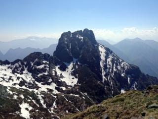 Ultimo saluto al Pedum. Montagna davvero affascinante!