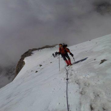 Punta Giordani (4046mt) – Via Normale da Indren