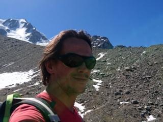 Altro selfie con la morena del Gran Paradiso
