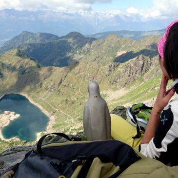 Via Fior di Montagna alla cima di Pescegallo