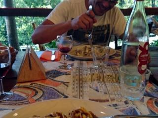 all'Homo Selvadego: pizzoccheri e ragù di selvaggina per rinfrancar lo spirito