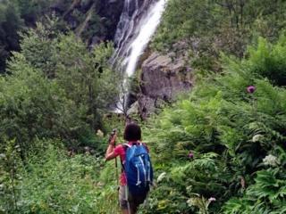ecco la bella cascata della Merdarola a pochi passi da noi