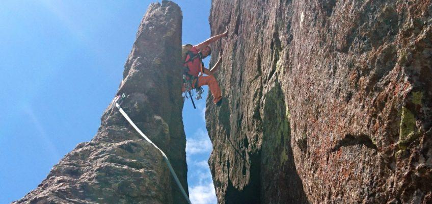 Punta della Rossa – Spigolo Sud Est – Alpe Devero