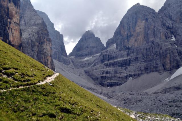 uno sguardo indietro, verso la Bocca di Brenta
