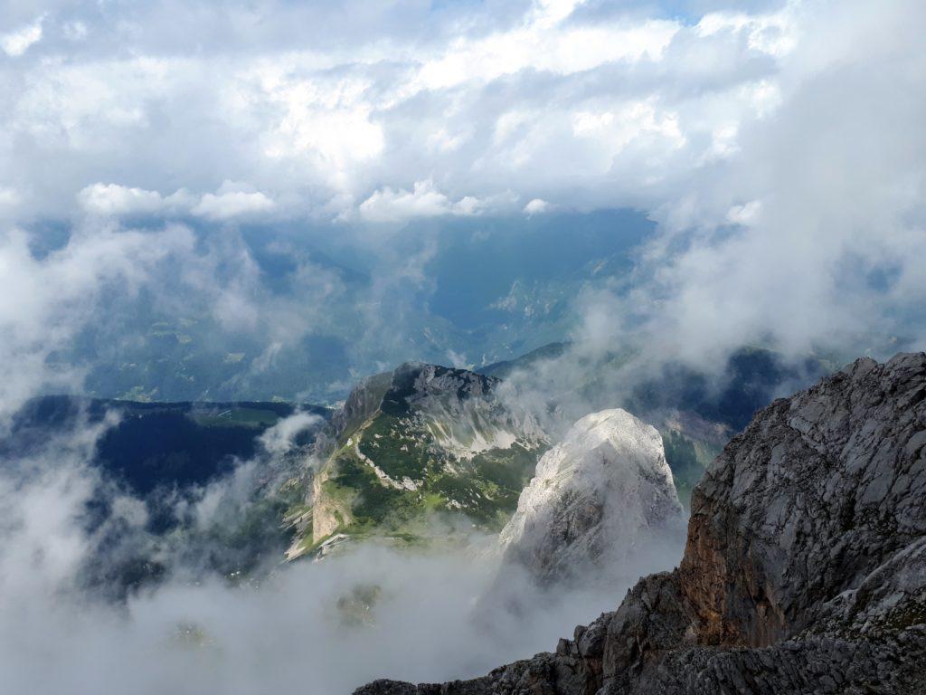 Bella vista in direzione della malga Movlina dalla nostra privilegiata postazione