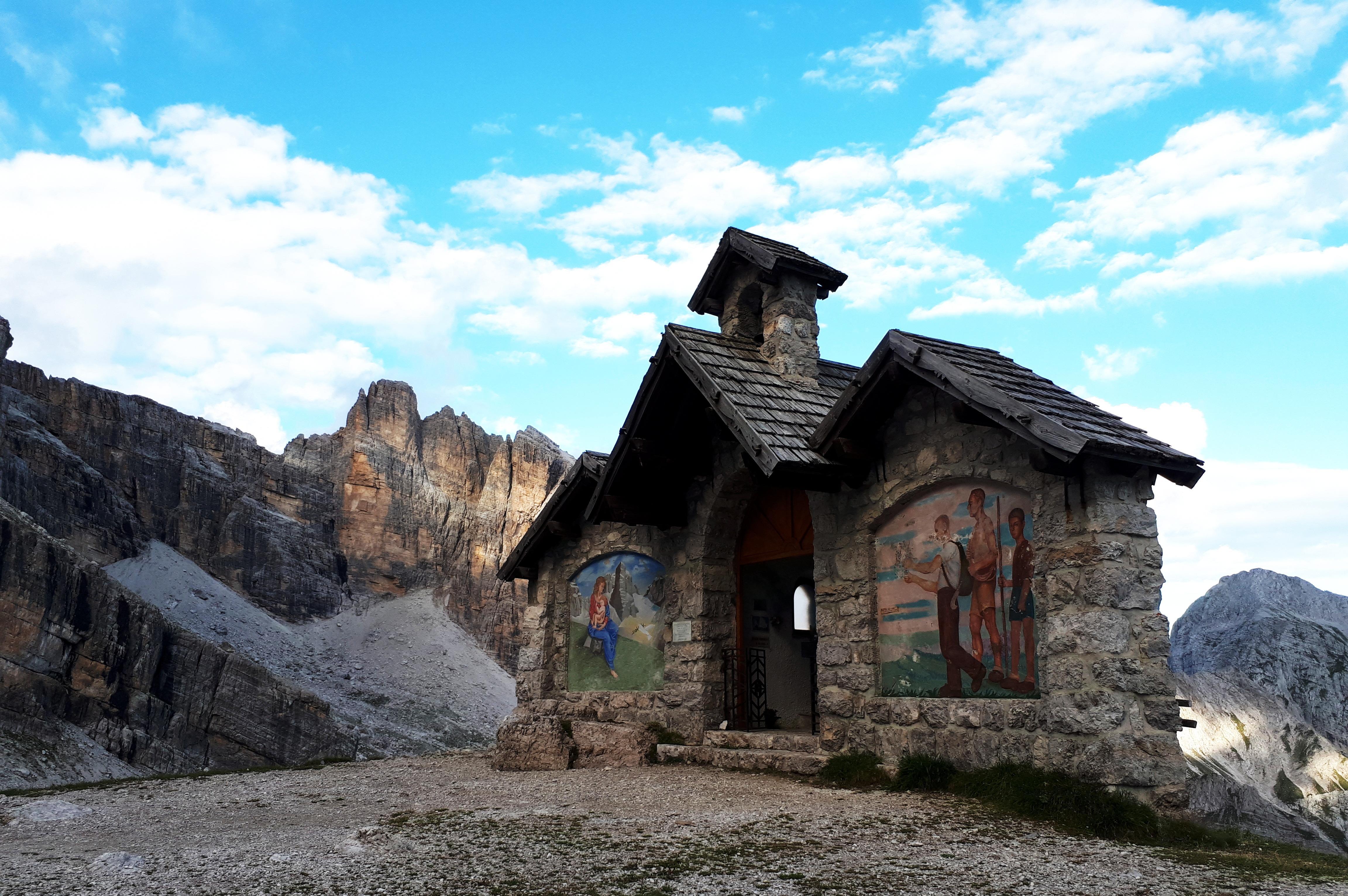 la Cappella del Rifugio Agostini