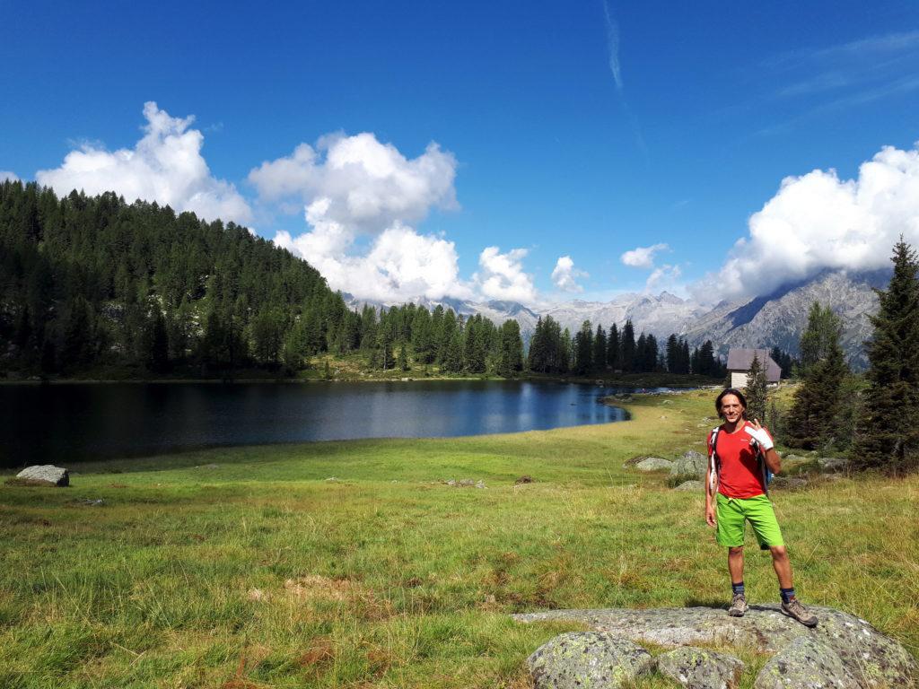 Io, il lago di San Giuliano e la mano scassata ;)