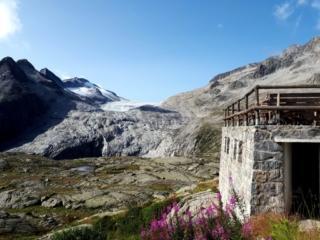 il ghiacciaio dell'Adamello: abbiamo già deciso che andremo lì... altrimenti picca e ramponi cosa ce li siamo portati a fare?!