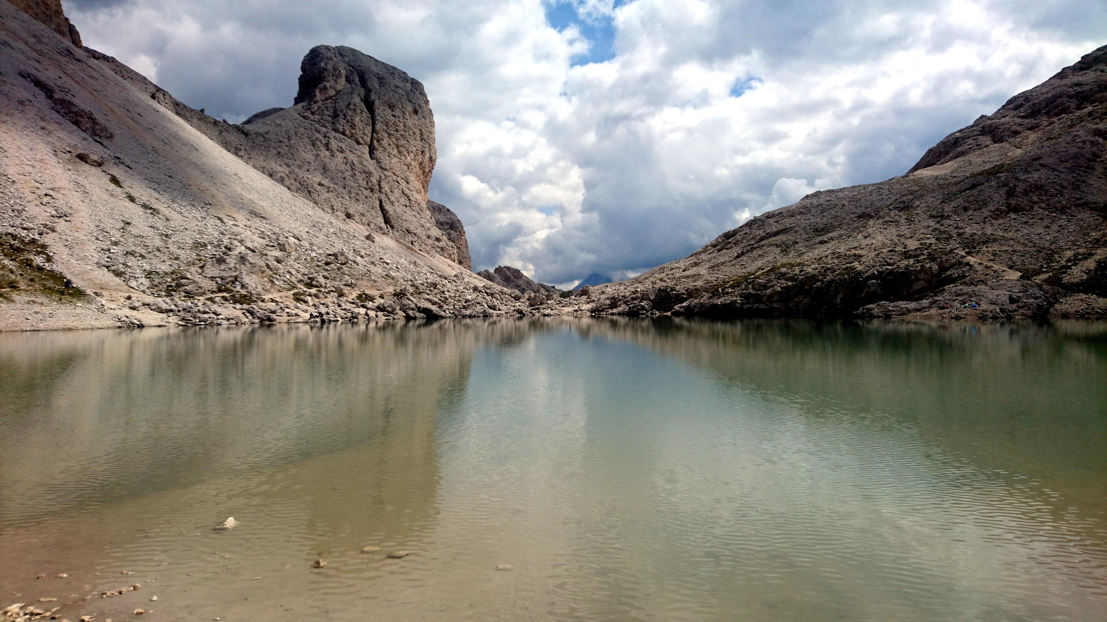 Il bel lago di Antermoia