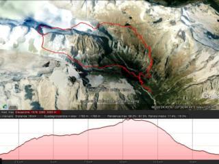 il percorso: 18 km per oltre 1700 mt di dislivello
