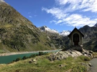 la bella cappella del lago di Barbellino