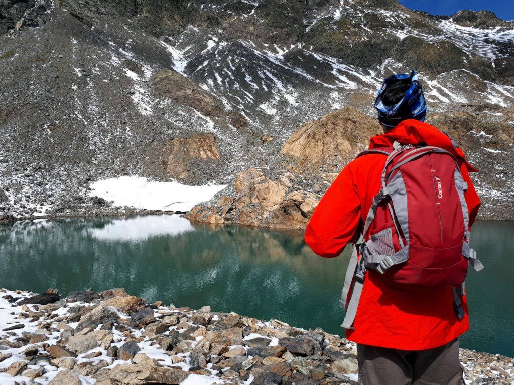 Teo e lo splendido lago senza nome sotto il Diavolo della Malgina