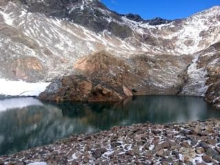 lo splendido lago senza nome nella conca del Diavolo della Malgina
