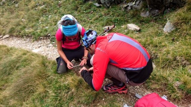 mi godo la scena mentre Gianna e Pinotto cercano di fotografare il povero ragno rosso.... :D