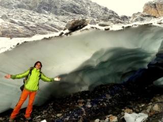 il ghiaccio e le foto fatte con lo smartphone: bene ma non benissimo....