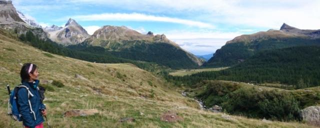 panorama verso l'Alpe Veglia