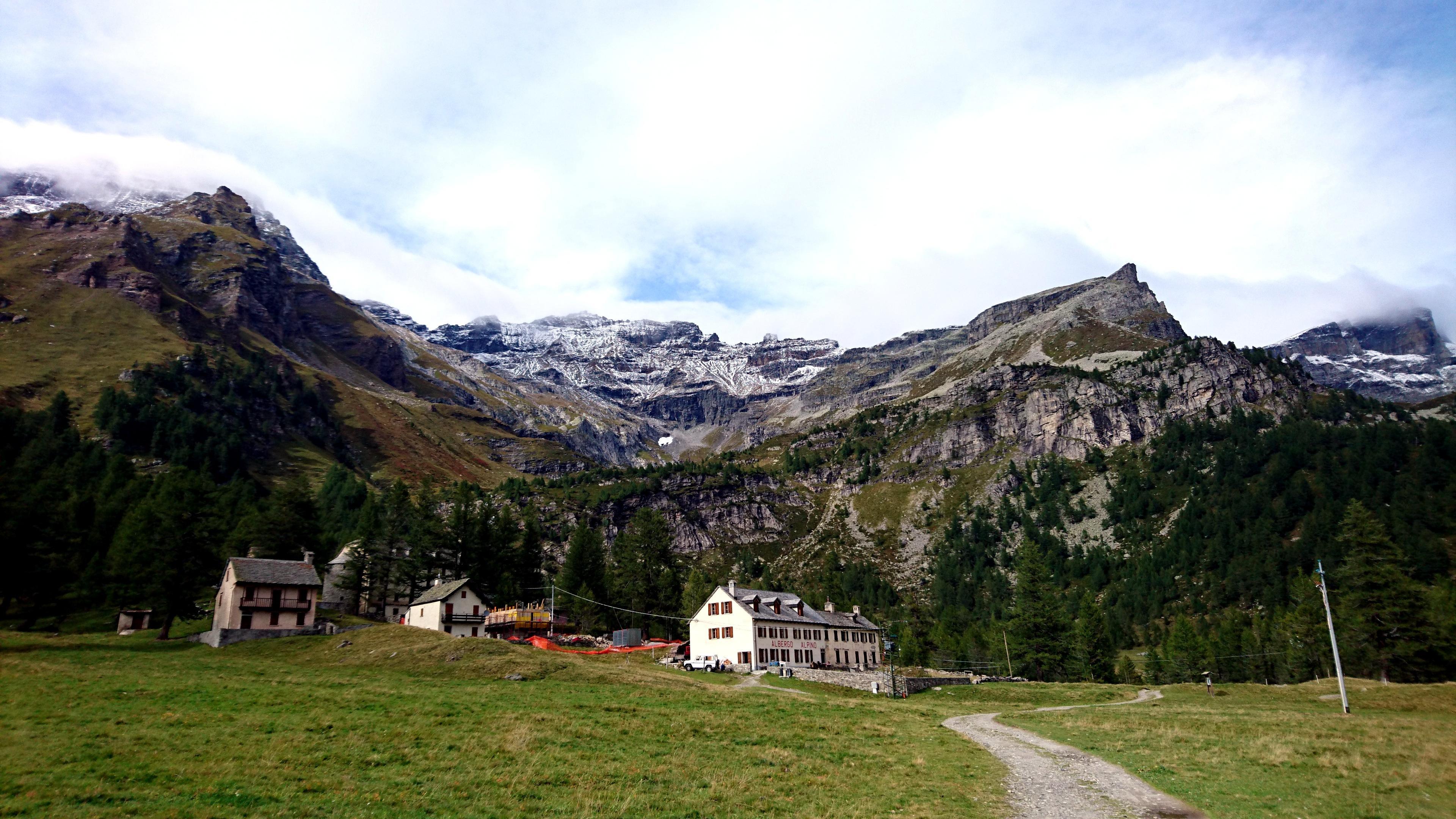 uno sguardo alla parte alta della valle, da cui proveniamo