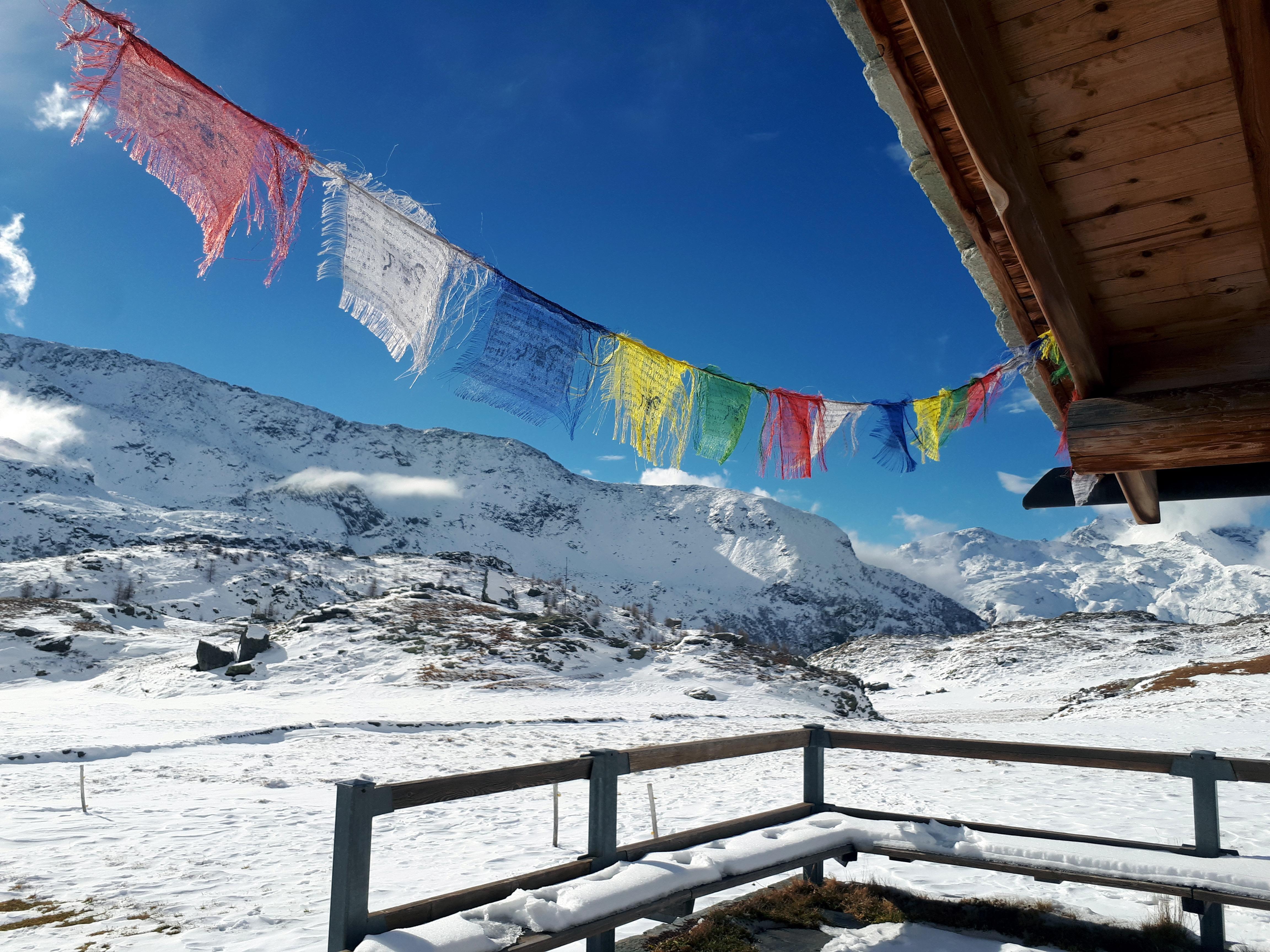 Ultimo scorcio nepalese prima della discesa verso valle. Ci attende un pranzo da SIGNORI a Fraciscio!! E infatti scenderemo veloci e determinati verso la pappa.... :P