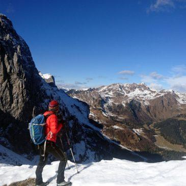 Versante Nord orobico: quasi-cima del Fop da Valcanale