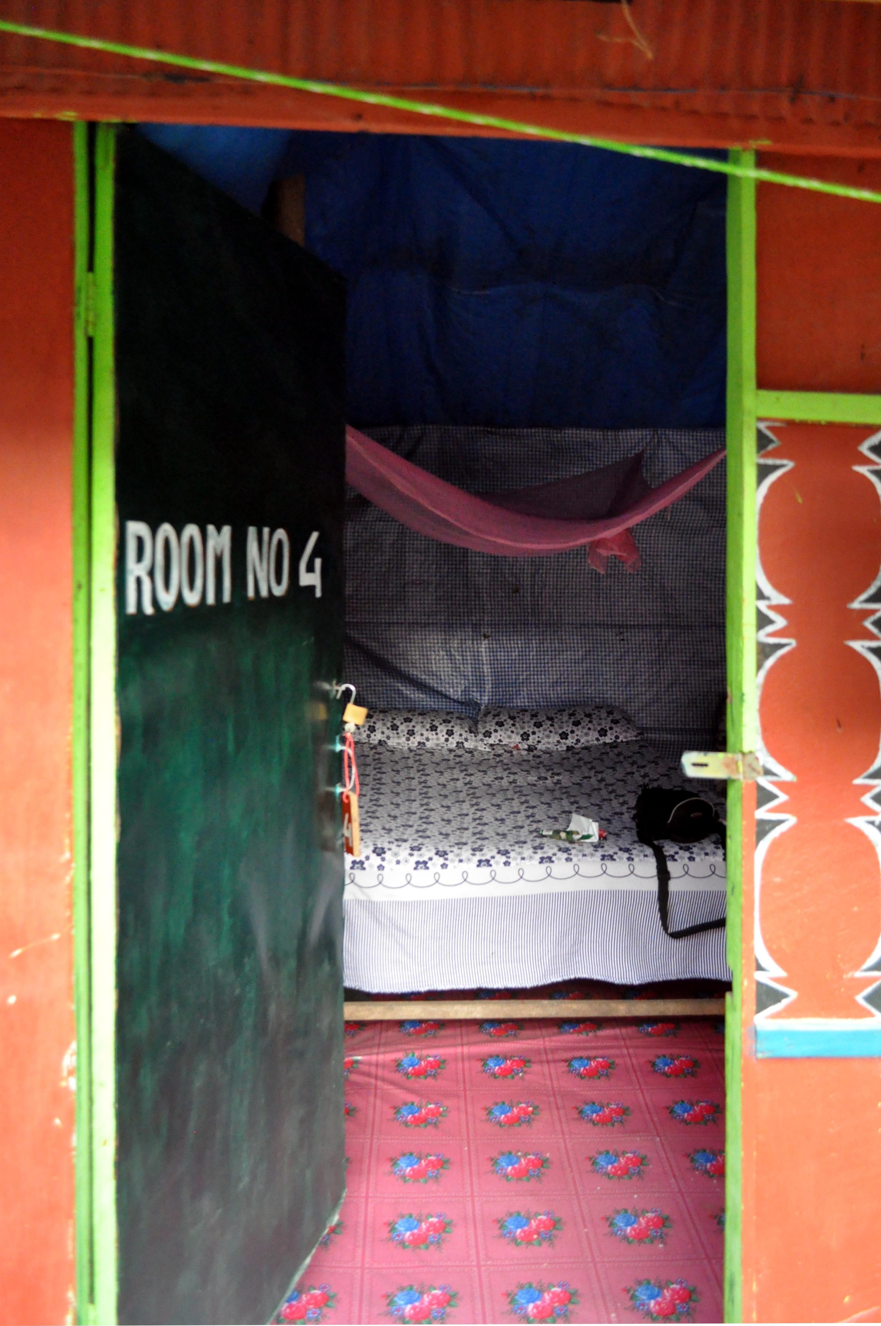 la nostra stanza per la notte