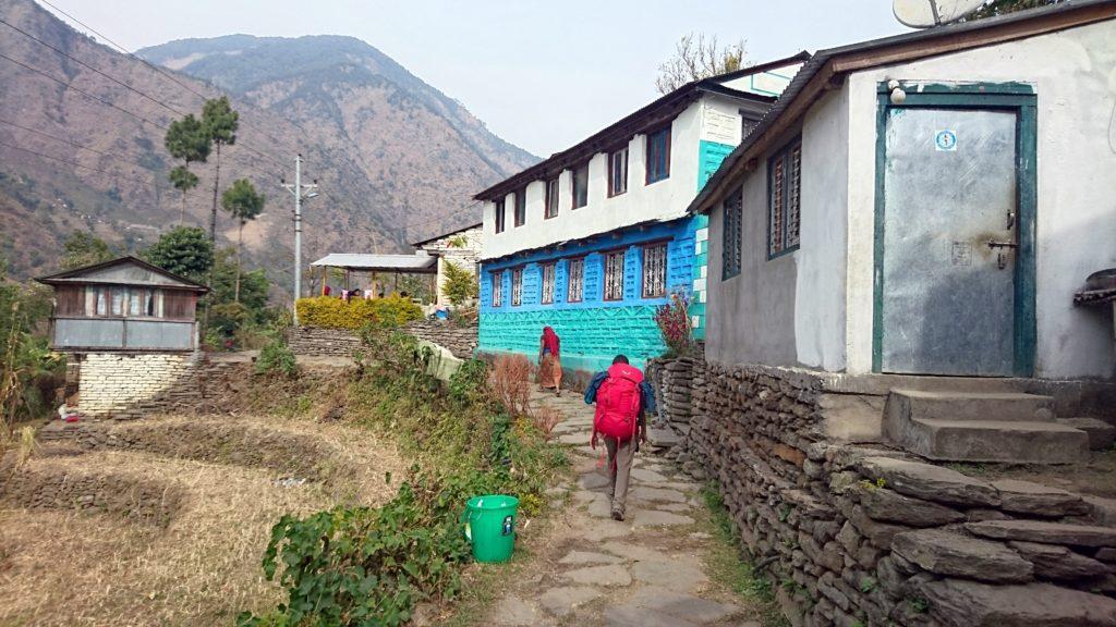 prime case del borgo di Ghermu