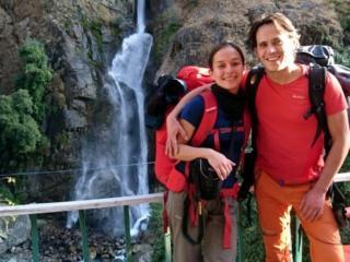entro breve raggiungiamo le cascate di Chyamche dove ci fermiamo per qualche fotina