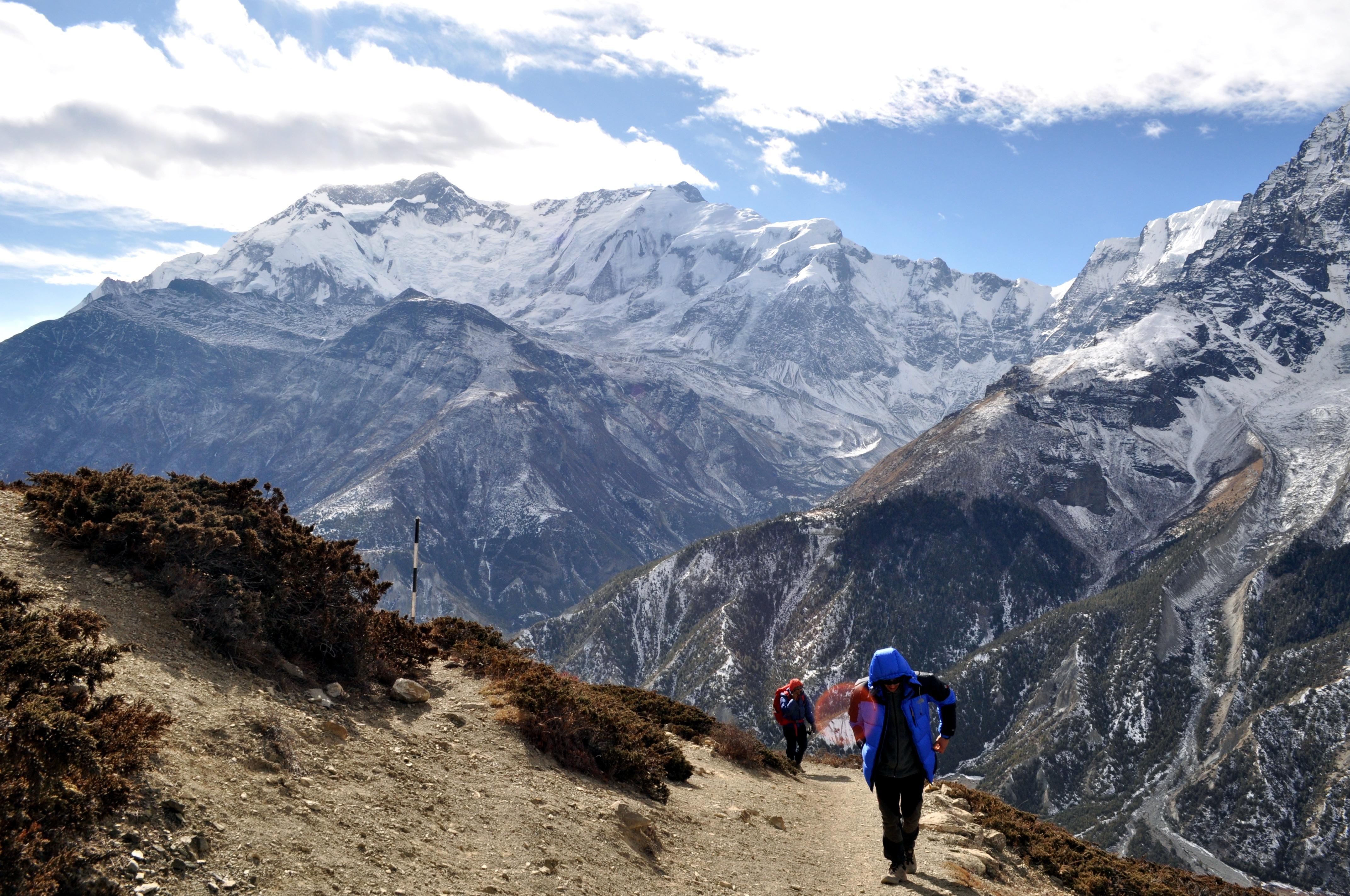 L'Annapurna e noi, sempre più in alto