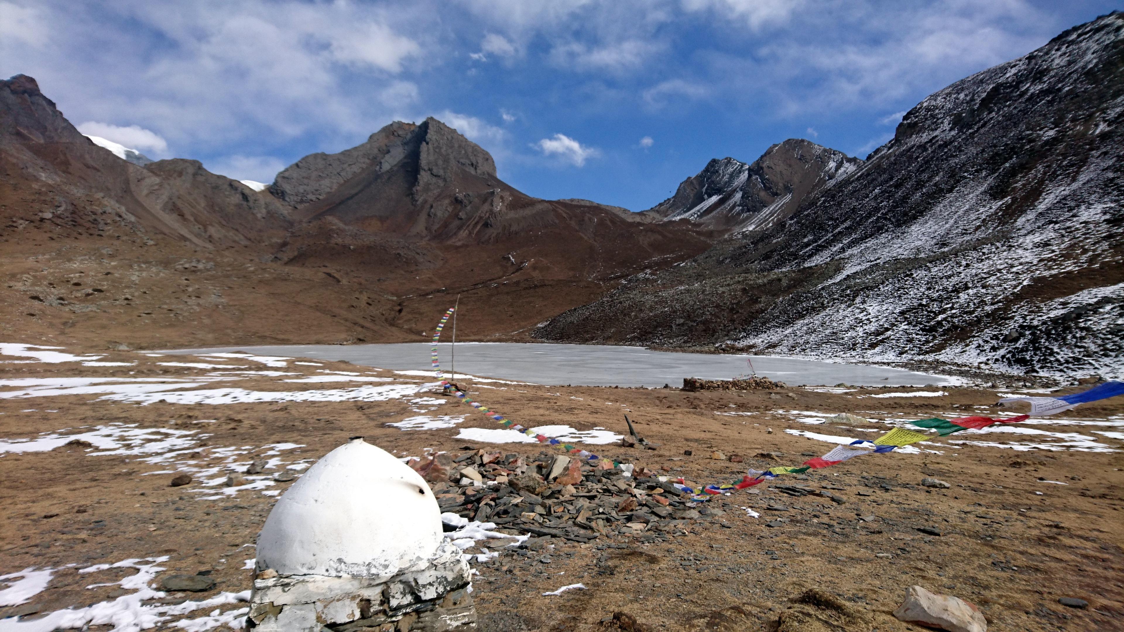 Ice Lake e i consueti lung-ta