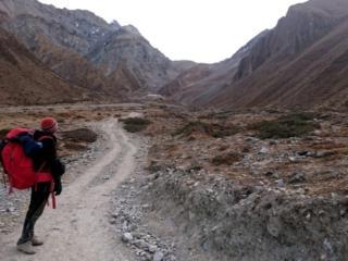 il Thorong La Pass sembra già lontanissimo, alle nostre spalle